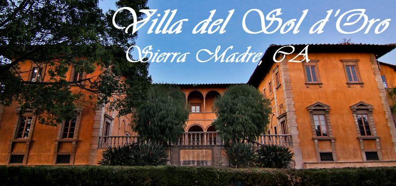 Villa del Sol d'Oro logo